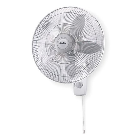 Air King AK-9018 18 Inch 1/20 HP 3-Speed Motor Indoor Oscillating Wall-Mount Fan