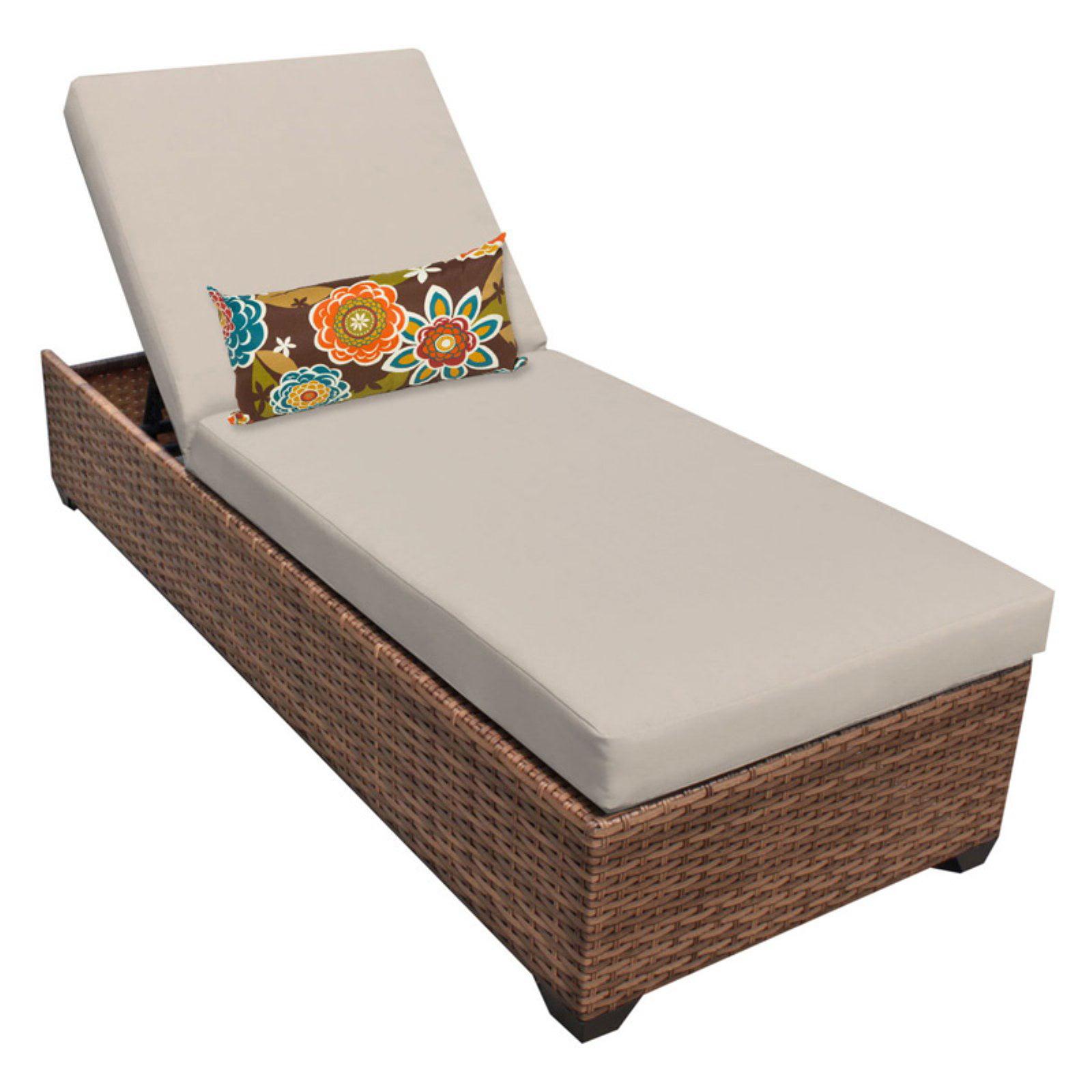 TK Classics Laguna Outdoor Chaise Lounge - Set of 2 Cushion Covers