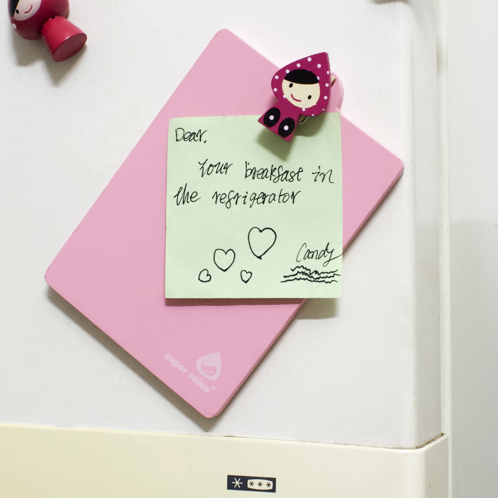 Lovely Doll-5] - Refrigerator Magnet clip / Magnetic Clipboard ...