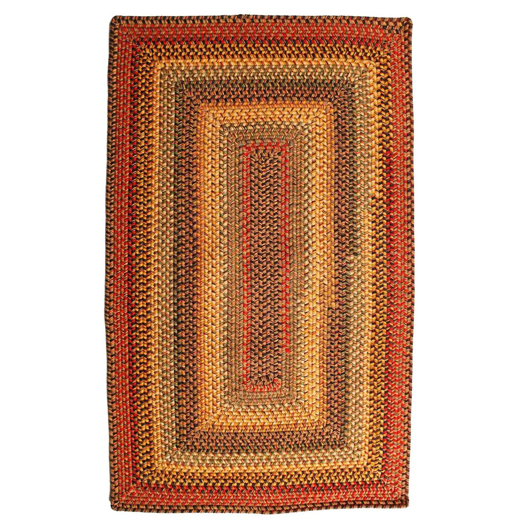 Homespice Cambridge Braided Rectangle Rug - (2 foot 6 inch x 9 foot)