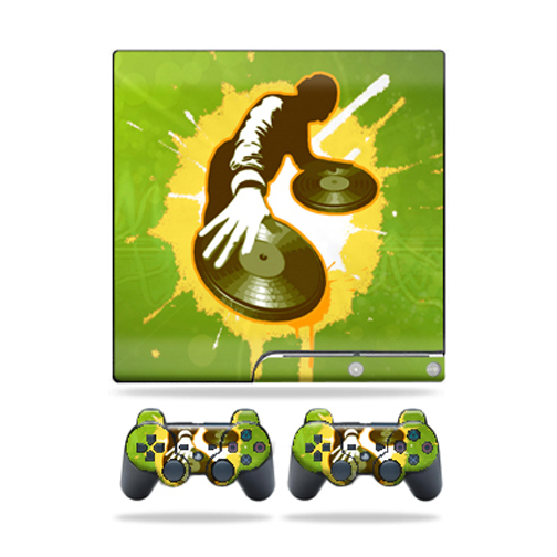 Mightyskins Protective Vinyl Skin Decal Cover for Sony Playstation 3 Playstation 3 Slim... by MightySkins
