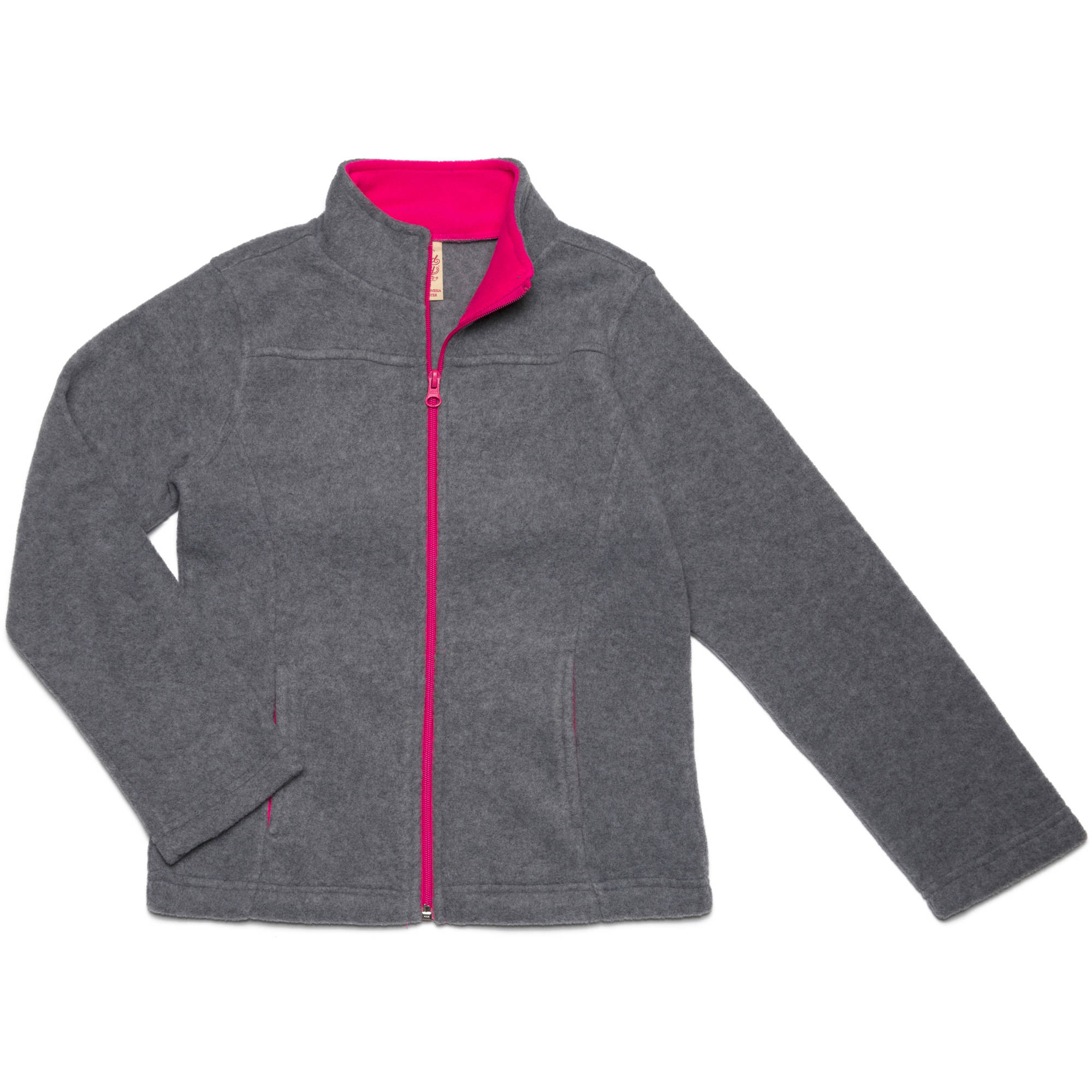 Faded Glory Girls' Micro Fleece Jacket