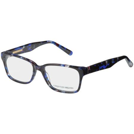 Christian Siriano Eyeglass Frames, Lui--Navy Tortoise - Walmart.com