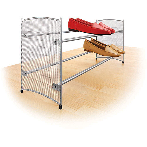 Lynk Expandable/Stackable Shoe Rack - Mesh Sided