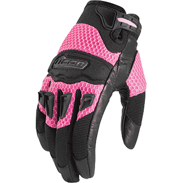 Icon Twenty Niner 29 Womens Gloves Pink