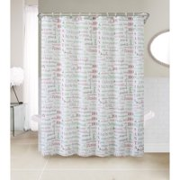 Product Image VCNY Christmas Chic 13 Pc Fabric Shower Curtain Set