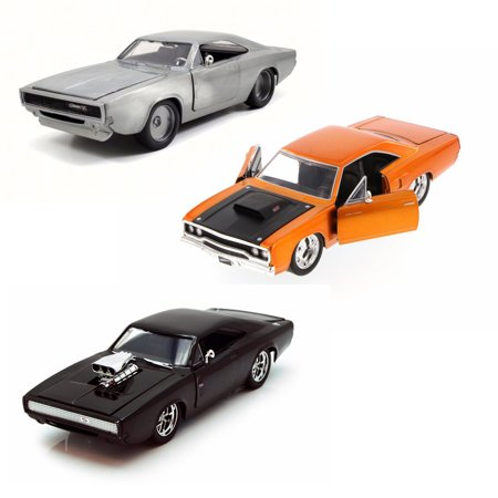 Groovy Doms Fast Furious Car Set 1 Set Of Three 1 24 Scale Theyellowbook Wood Chair Design Ideas Theyellowbookinfo