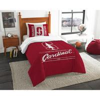 """NCAA Stanford Cardinal """"Modern Take"""" Bedding Comforter Set"""