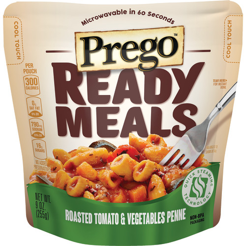 Prego Ready Meals Roasted Tomato & Vegetable Penne, 9 oz.