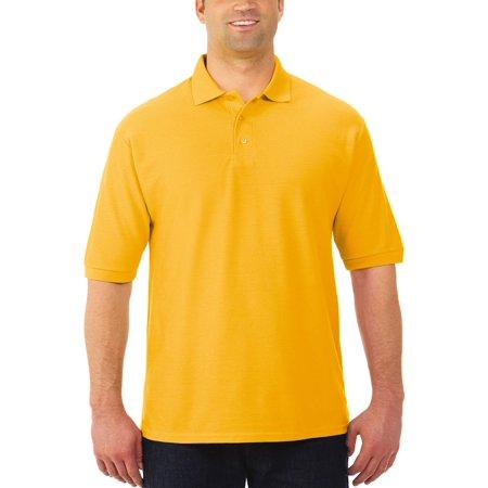 Jerzees - Easy Care Big Men s Short Sleeve Polo - Walmart.com c6ceb00fc4100