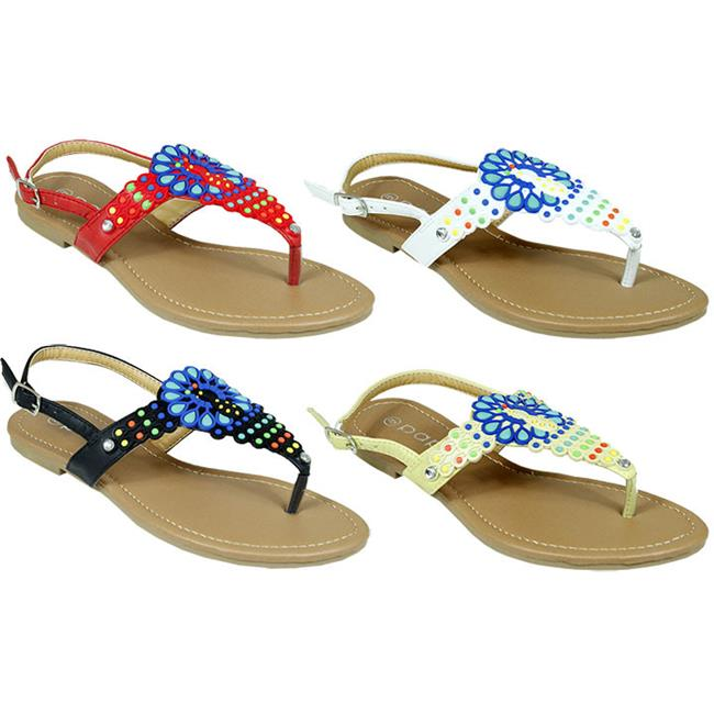 DDI 1949283 Women's Beaded Sandals Case of 48