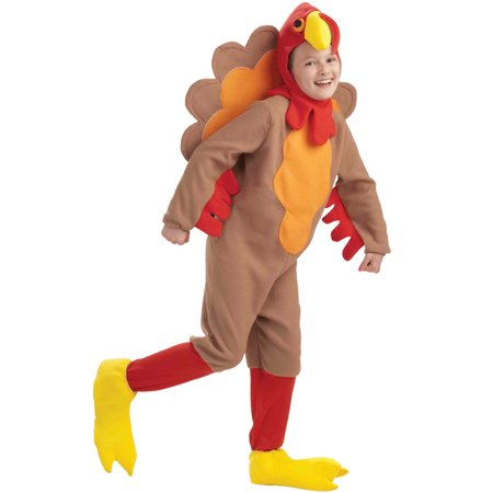 Fleece Turkey Child Costume (M)