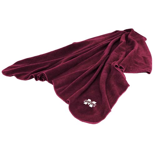 Mississippi State Huddle Throw Blanket