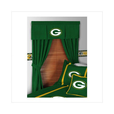 Bundle 38 Sports Coverage Green Bay Packers Drapes And Valance
