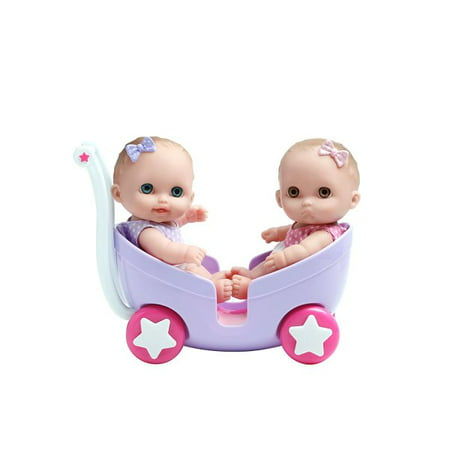 JC Toys Lil' Cutesies Twins 8.5