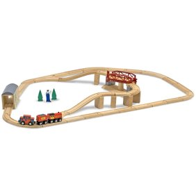 Extraordinary Wooden Train Set Walmart Contemporary - Best Image ...