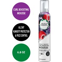 Herbal Essences Curl-Boosting Mousse, Frizz Control, 6.8 oz