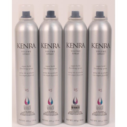 Kenra - Volume Hair Spray 10Oz Lot Of 4