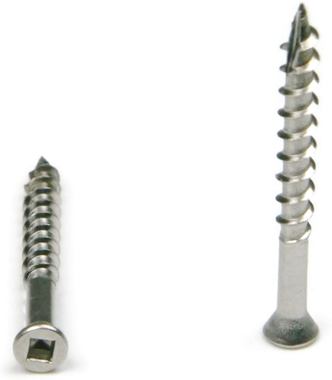 """500 1-5//8/"""" x #8-305 Stainless Steel Deck Screws Square Drive"""