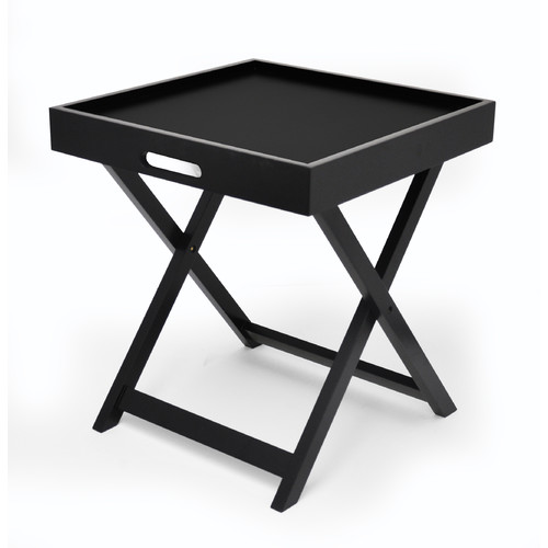 Product Image Urban Shop Side Table With Removable Tray, Multiple Colors