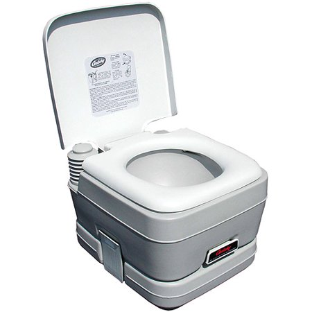 Century Portable Toilet 2.5-Gallon Capacity Holding Tank