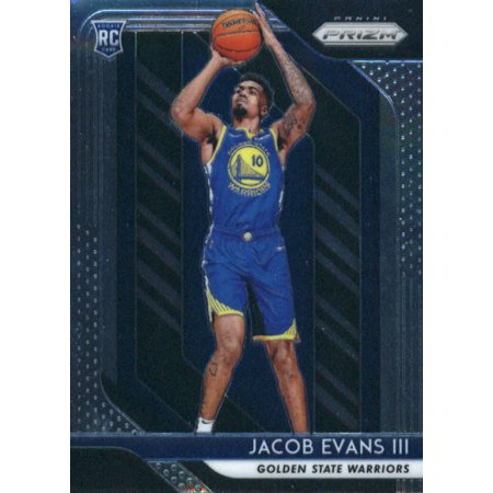 2018-19 Panini Prizm #212 Jacob Evans III Golden State Warriors Rookie Basketball Card - Jacobs Trading
