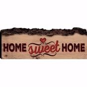 Sign-Barky-Home Sweet Home (16 x 5.75)