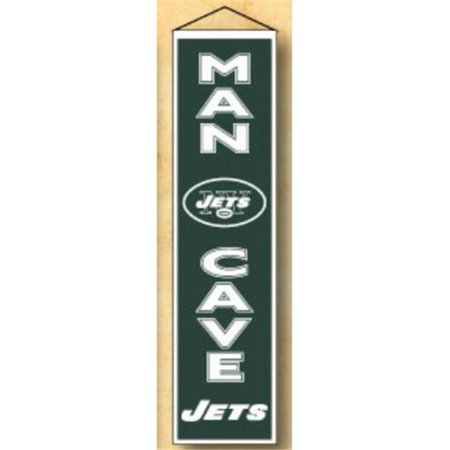 Gagner des stries Sport 49174 New York Jets Man Cave Banni-re - image 1 de 3