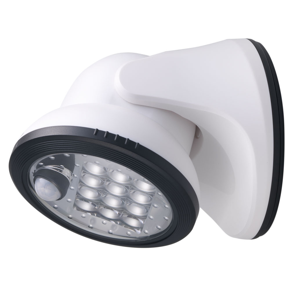"Fulcrum Products Inc 20034-108 5.9"" White 12 LED Porch Light"