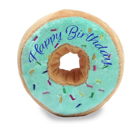 Cuddle Barn Happy Birthday Donuts 4 inches Plush Toy (Green)](Cuddles From Happy Tree Friends)