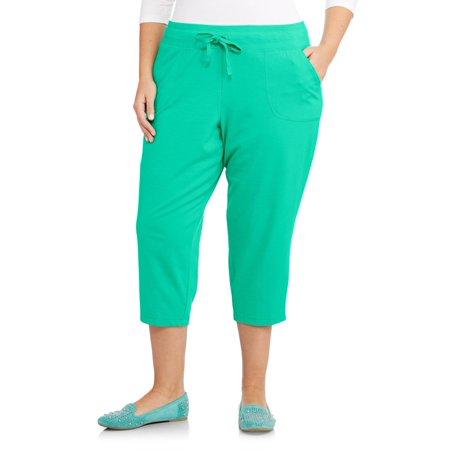9d74f934880 Danskin Now - Women s Plus-Size Essential Capri - Walmart.com