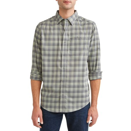 Swiss Tech Long Sleeve Outdoor Woven Shirt ()