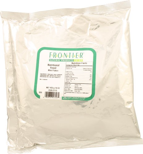 Frontier Nutritional Yeast Mini Flakes, 1 Lb by Frontier