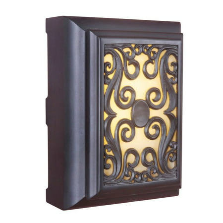 Craftmade Framed Scroll LED Illuminated Chime 8.375W 11.5H ()