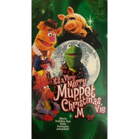 Jim Henson A Very Merry Muppet Christmas Movie VHS 2002 RARE VINTAGE SHIPN24HRS ()