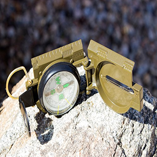 Best Lensatic Military Compass For Easy Map Navigation - Professional Grade