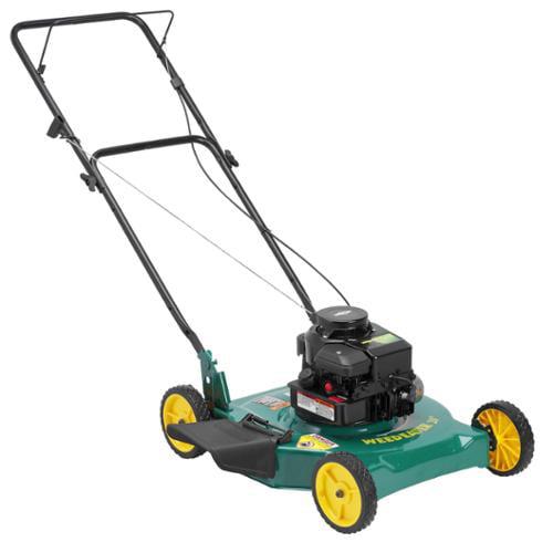 Weed Eater 20 Inch Cutting Width Side Discharge Lawn Mower Green 20 Side 300s Walmart Com Walmart Com