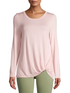 Women's Long Sleeve Twist T-Shirt