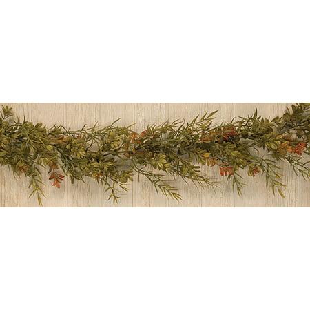 Boxwood Dill Leaves Garland - Boxwood Garland