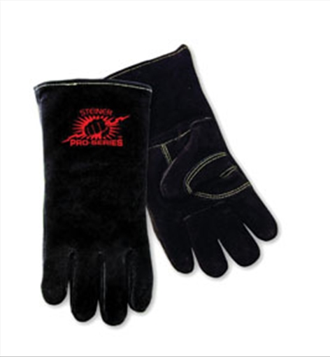 Welding Gloves, B-Series, Side Split Cowhide, Foam Lined, Lg Steiner 2600B-L STI