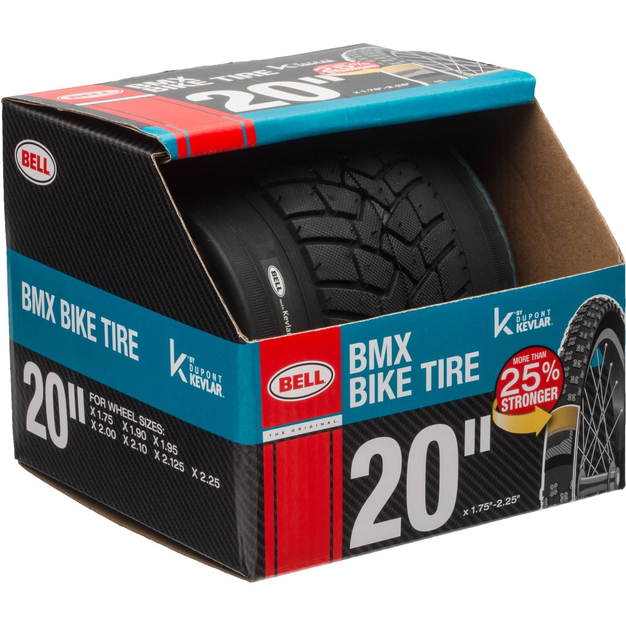 "Bell Sports Gate BMX Tire with Kevlar, 20"", Black"