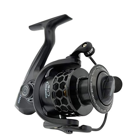 NK Spinning Fishing Reels 12+1BB Ultra Lightweight Carved Aluminum Spool Reels Affordable Smooth Spinning