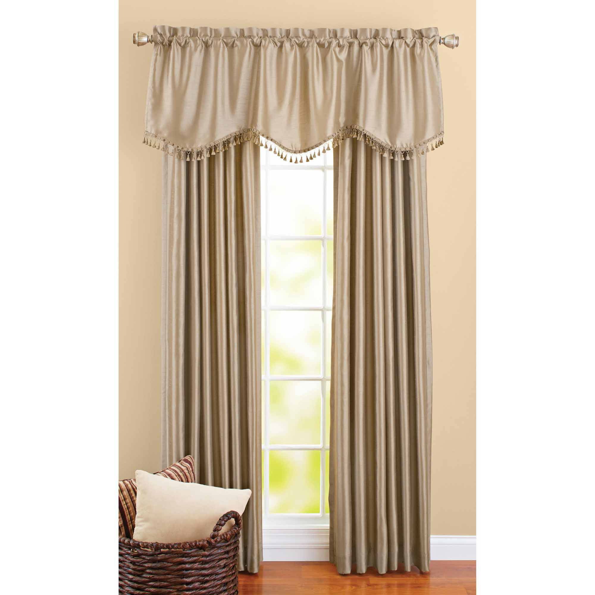 High Quality ***DISCONTINUED*** Better Homes And Gardens Crushed Taffeta Window Curtains,