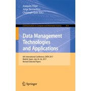 Data Management Technologies and Applications - eBook