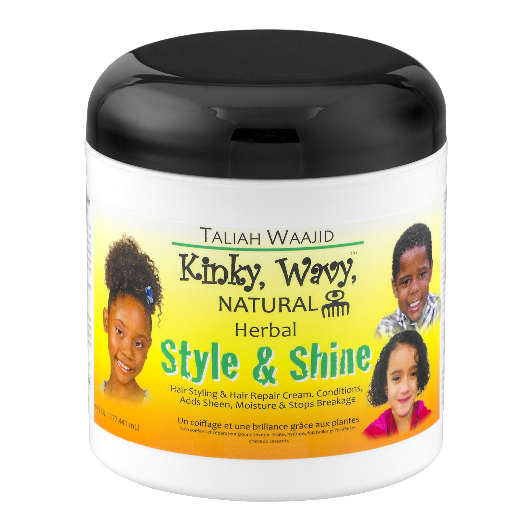 Health Tech Taliah Waajid Kinky, Wavy, Natural Style & Shine, 6 oz