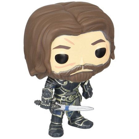 Pop Movies  Warcraft   Lothar Action Figure  From The Warcraft Movie  Lothar  As A Stylized Pop Vinyl From Funko  By Funko