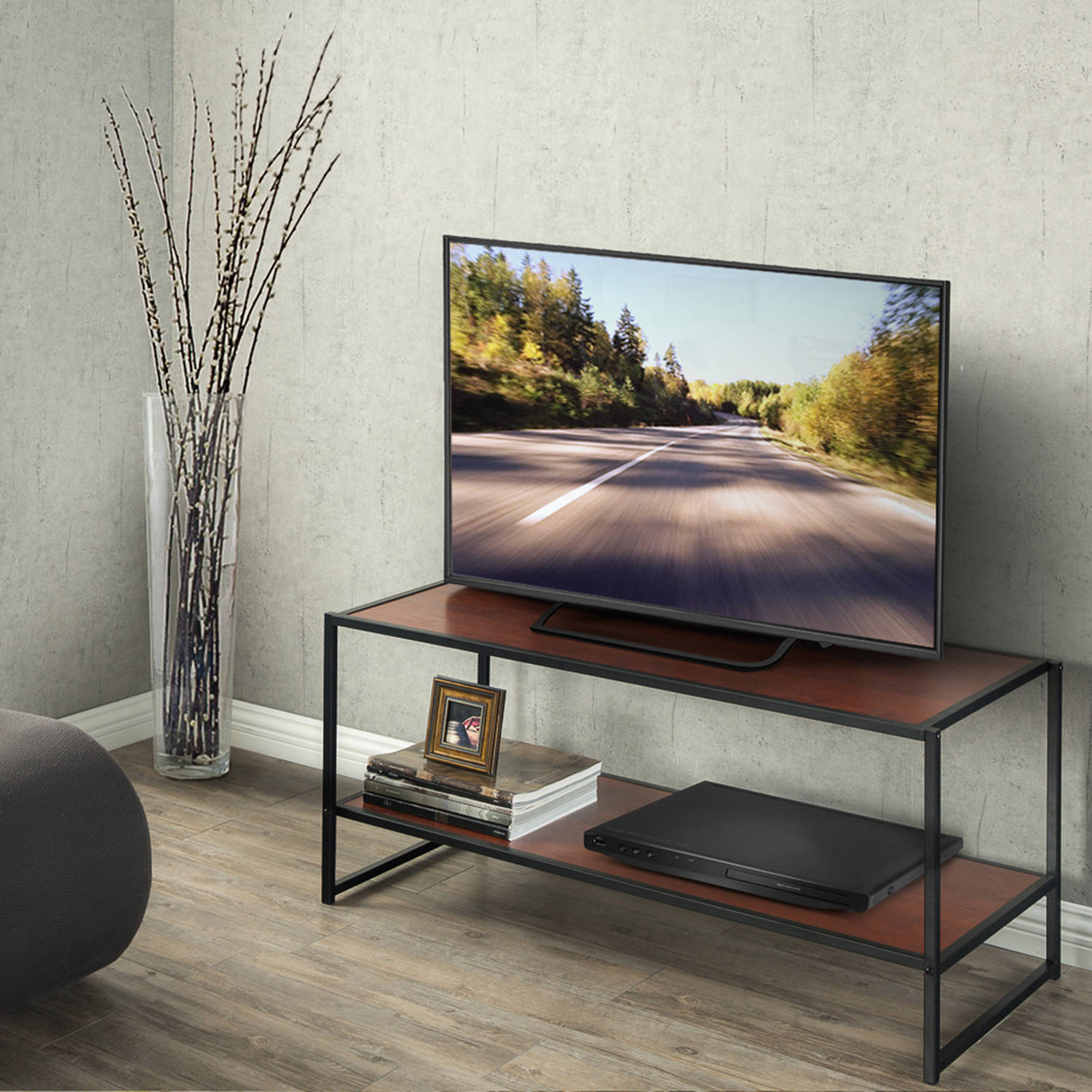 Modern Studio Collection TV Media Stand/Table For TVs up to 42""