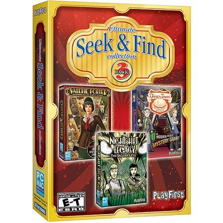 Ultimate Seek & Find Collection (3 PC Games in 1)