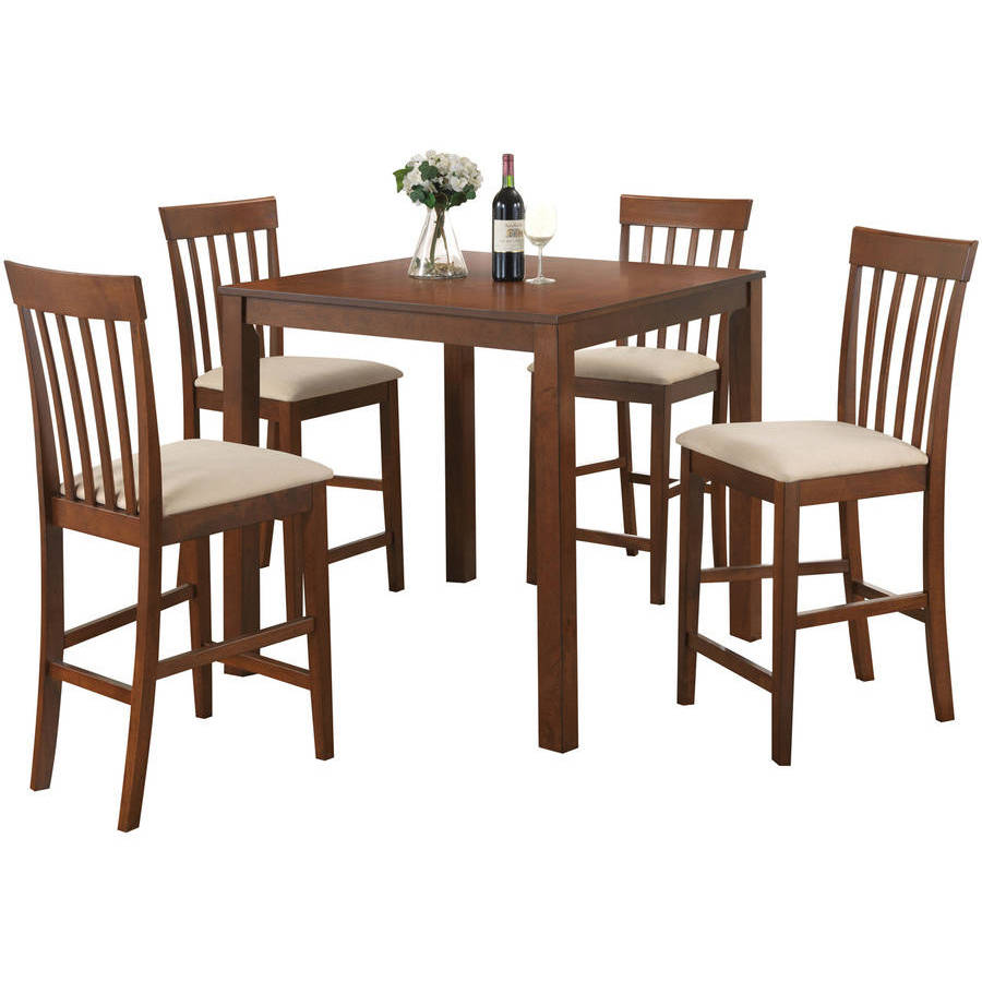 Acme Gaucho 5-Piece Counter-Height Dining Room Set, Multiple Colors by Acme Furniture