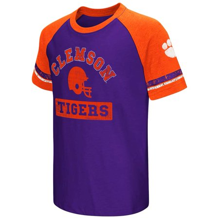 Clemson Tigers Youth Colosseum All Pro Raglan T-Shirt